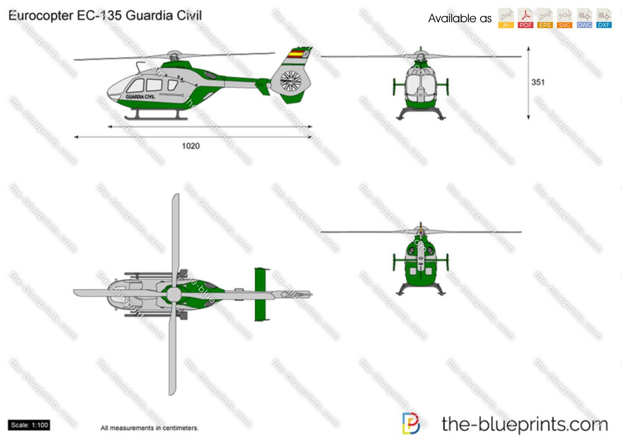 Eurocopter EC135 Guardia Civil