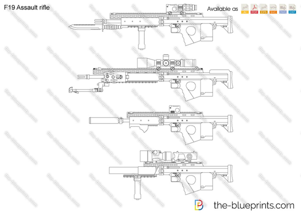 F19 Assault rifle