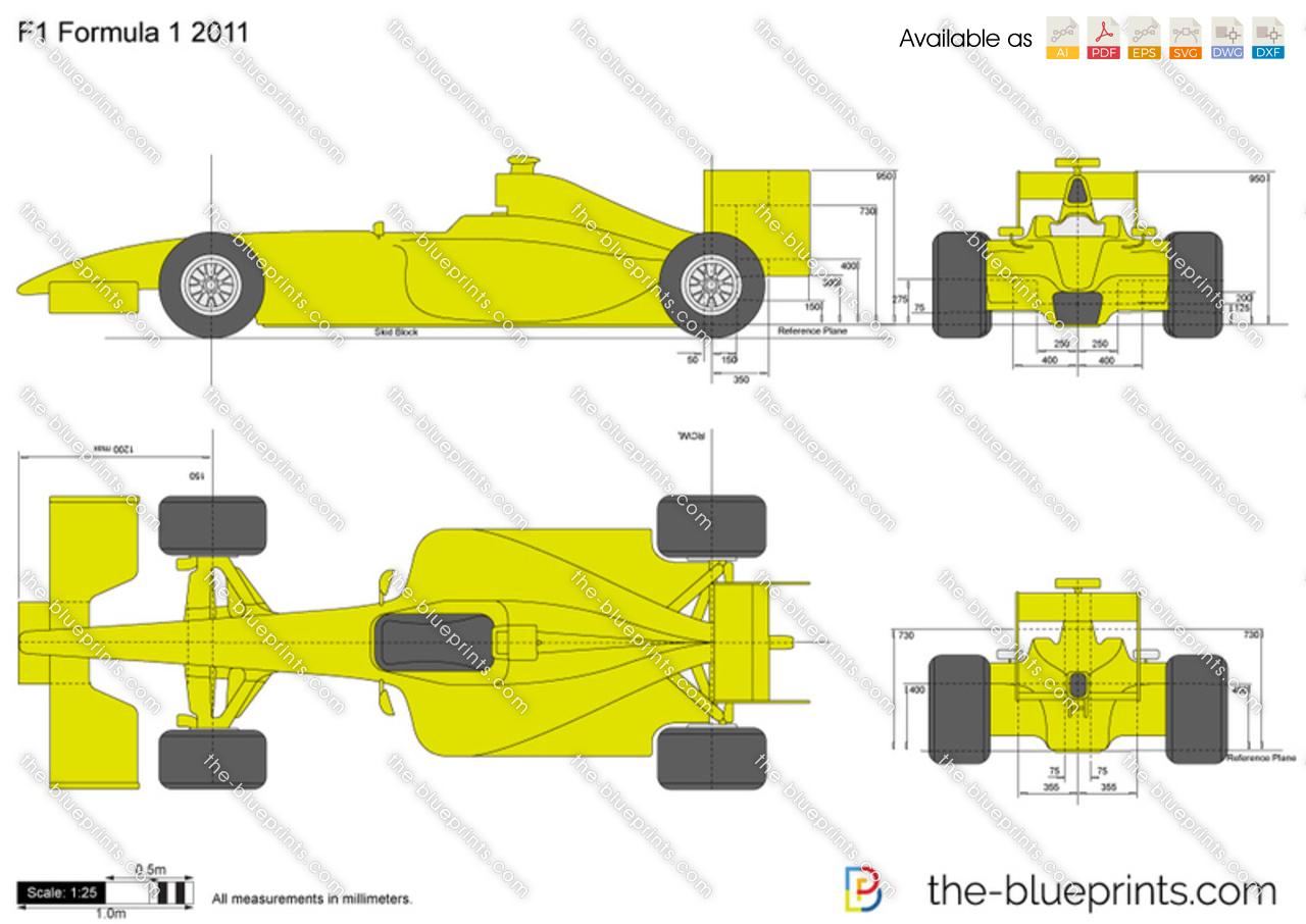 F1 formula 1 2011 vector drawing malvernweather Gallery