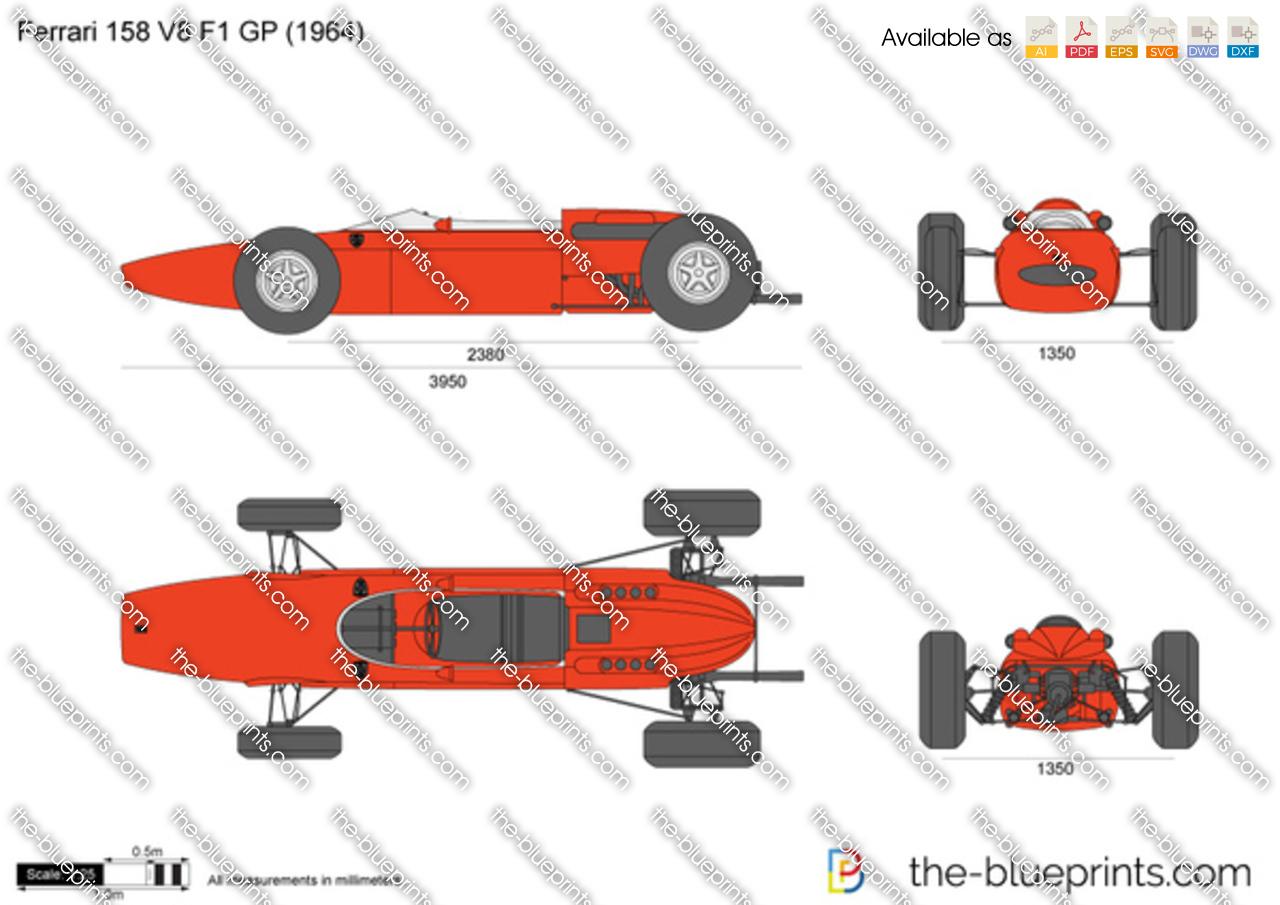 Ferrari 158 V8 F1 GP