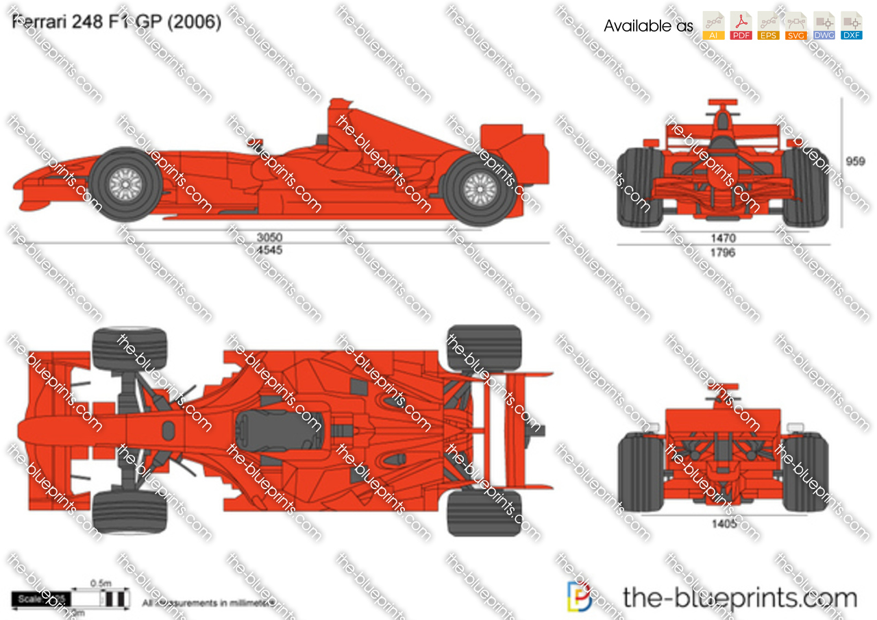 The blueprints com vector drawing ferrari 248 f1 gp