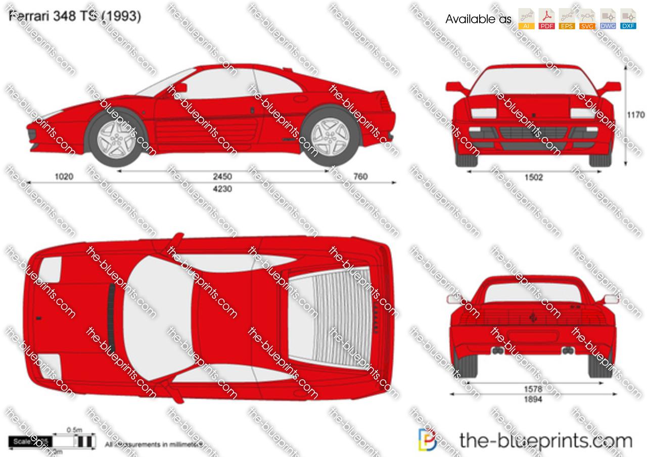 Ferrari 348 TS 1990