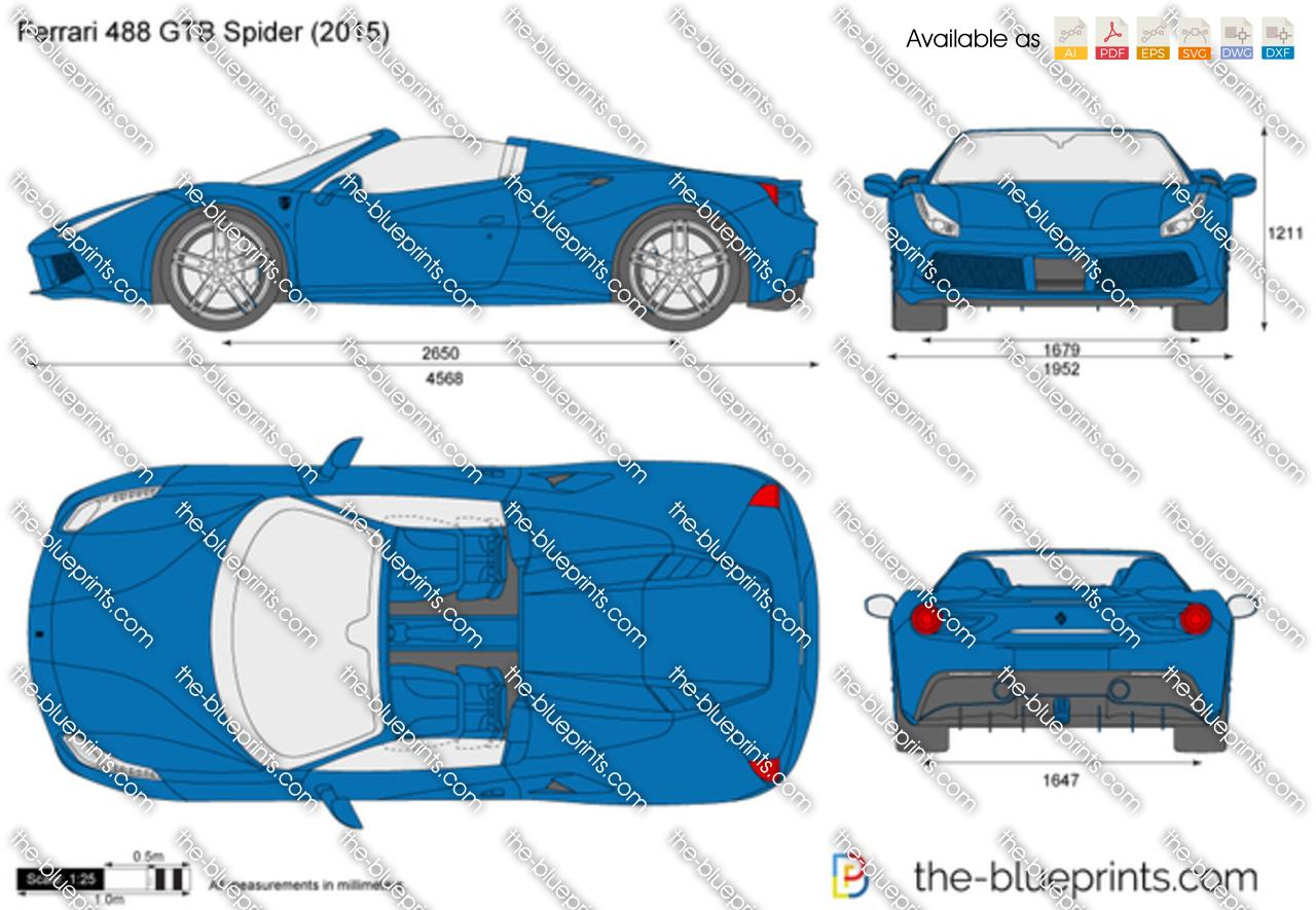 Ferrari 488 GTB Spider 2016