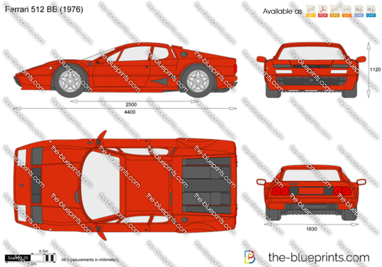 Ferrari 512 BB 1977