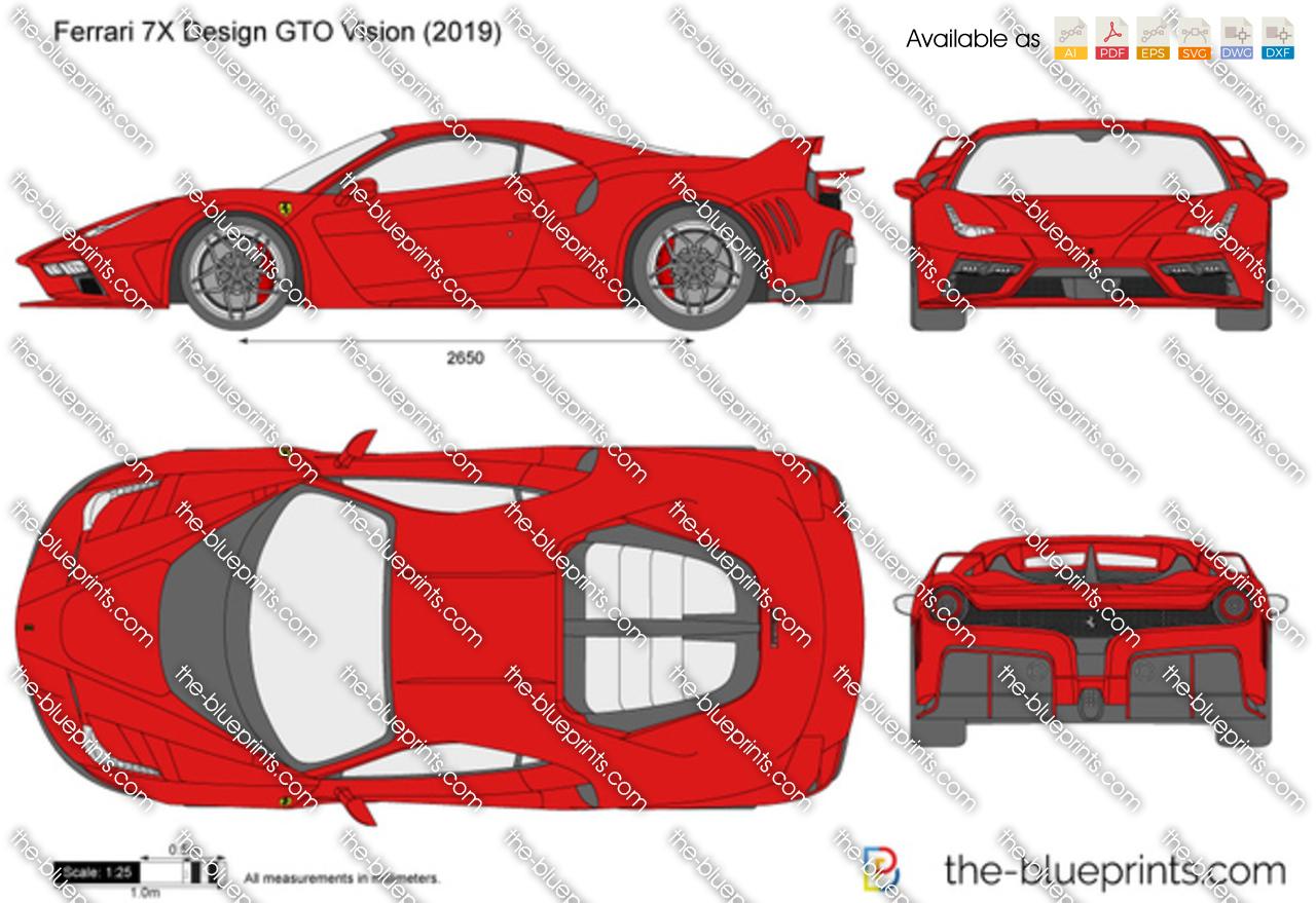 Ferrari 7X Design GTO Vision