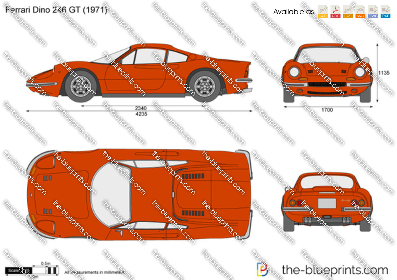 Ferrari Dino 246 GT 1974