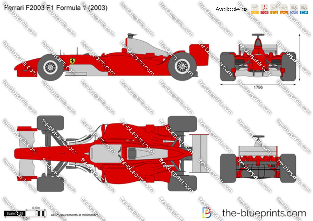 Ferrari F2003 F1 Formula 1