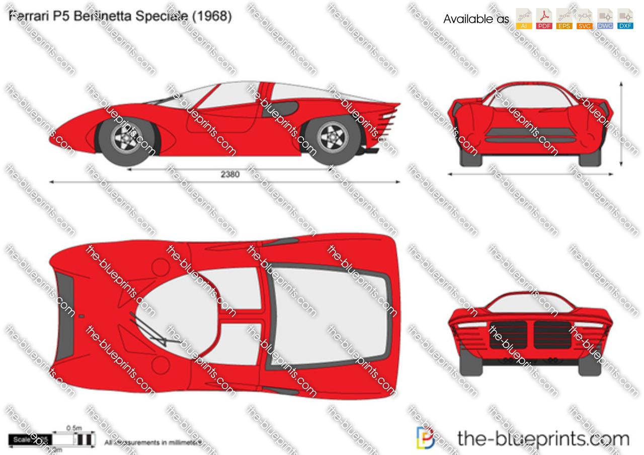 Ferrari P5 Berlinetta Speciale
