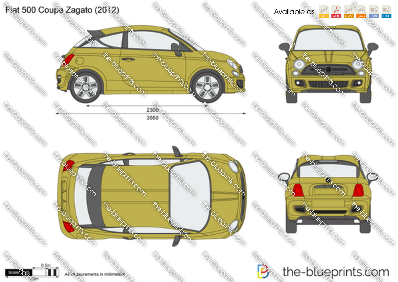 Fiat 500 Coupe Zagato
