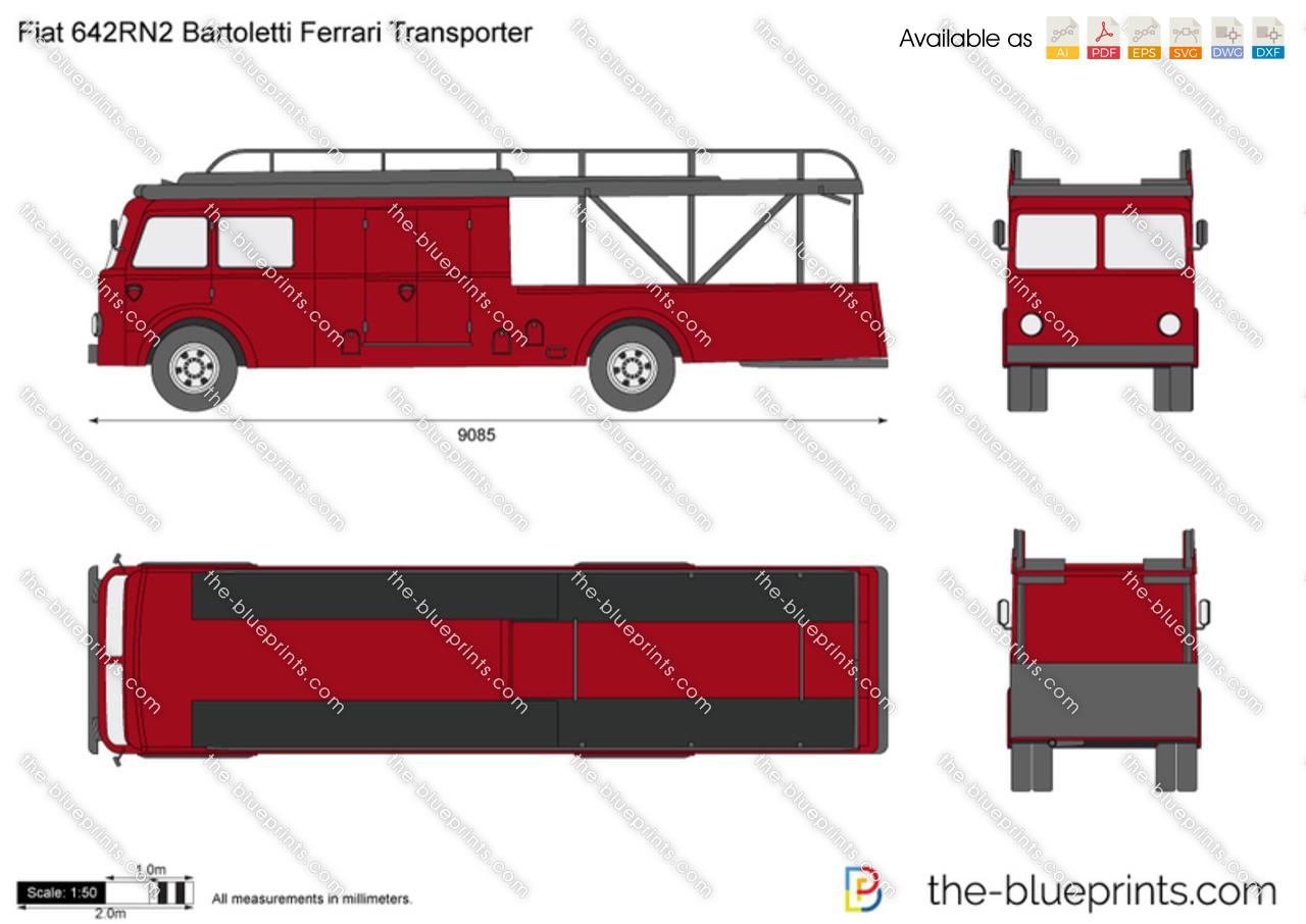 Fiat 642RN2 Bartoletti Ferrari Transporter