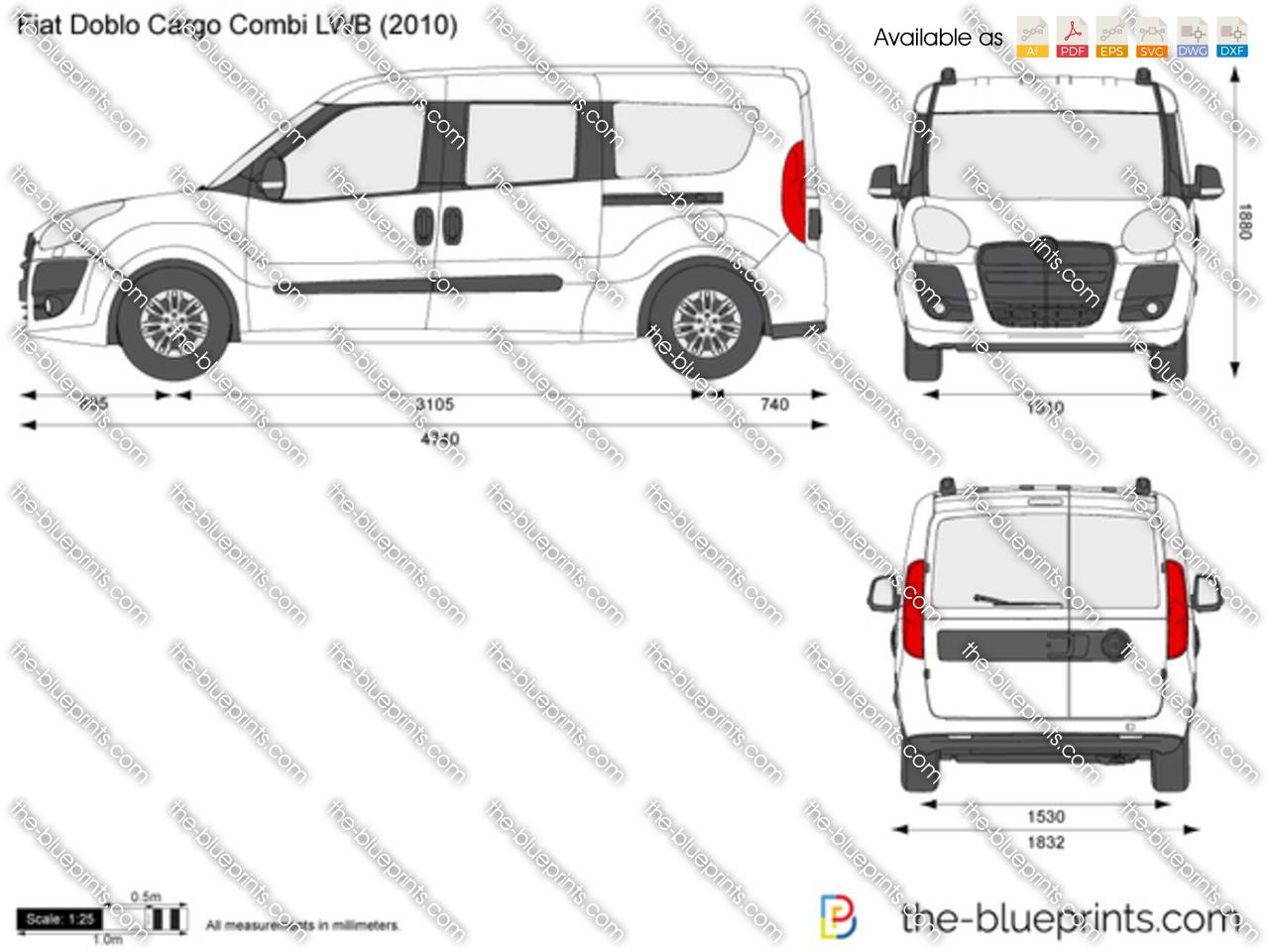 Fiat Doblo Cargo Combi LWB 2013