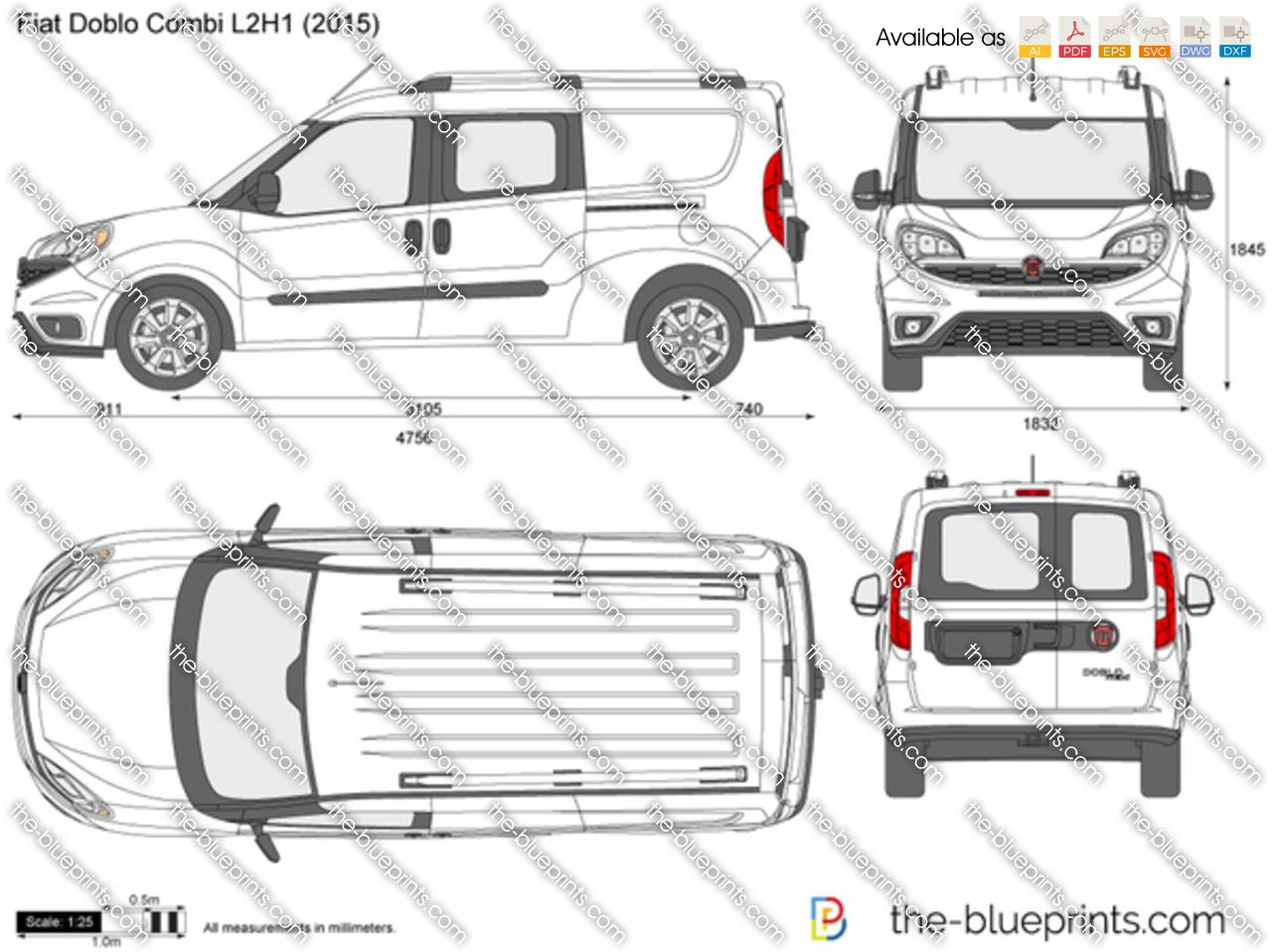 Fiat Doblo Combi L2H1