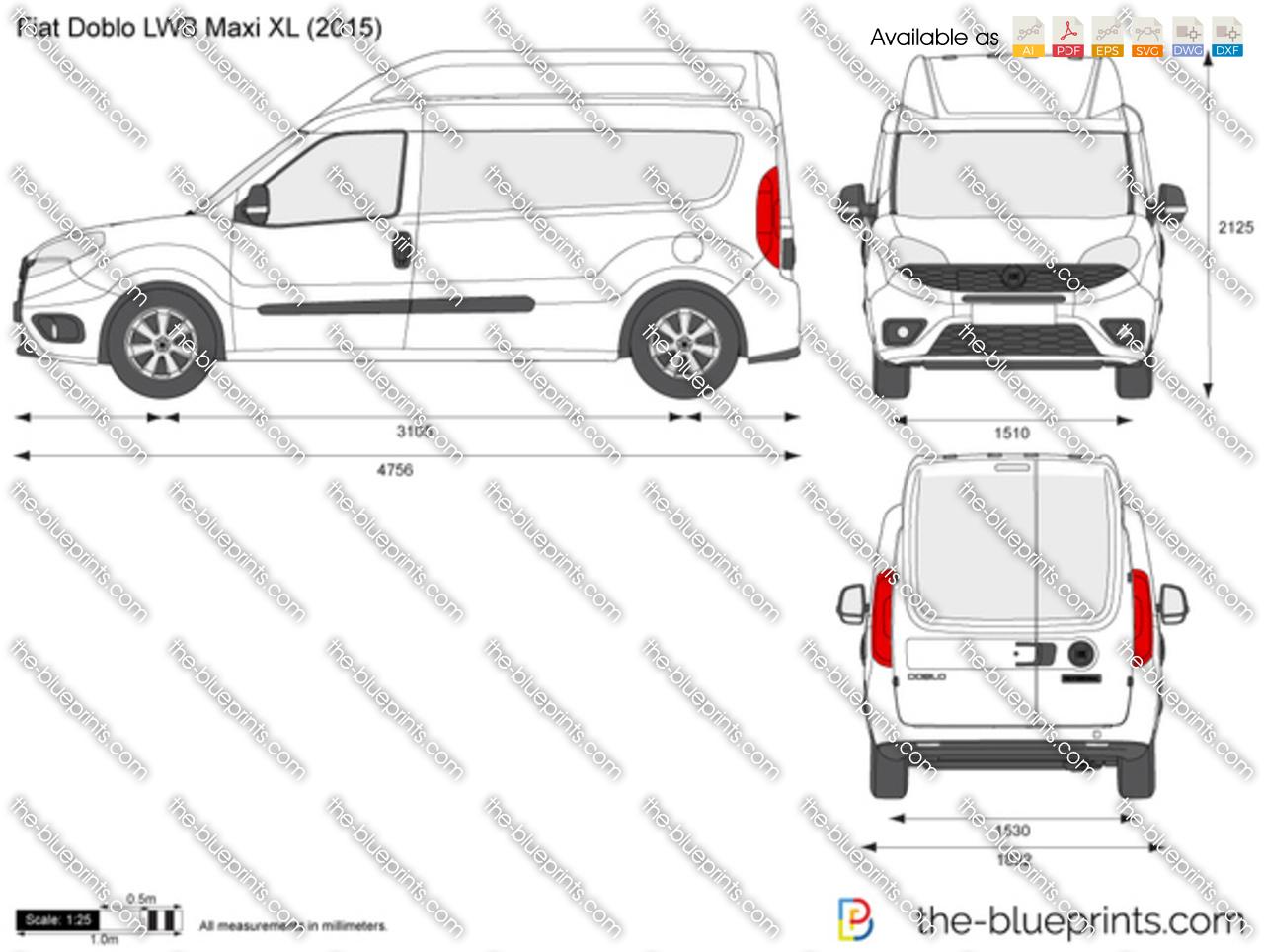Fiat Doblo LWB Maxi XL