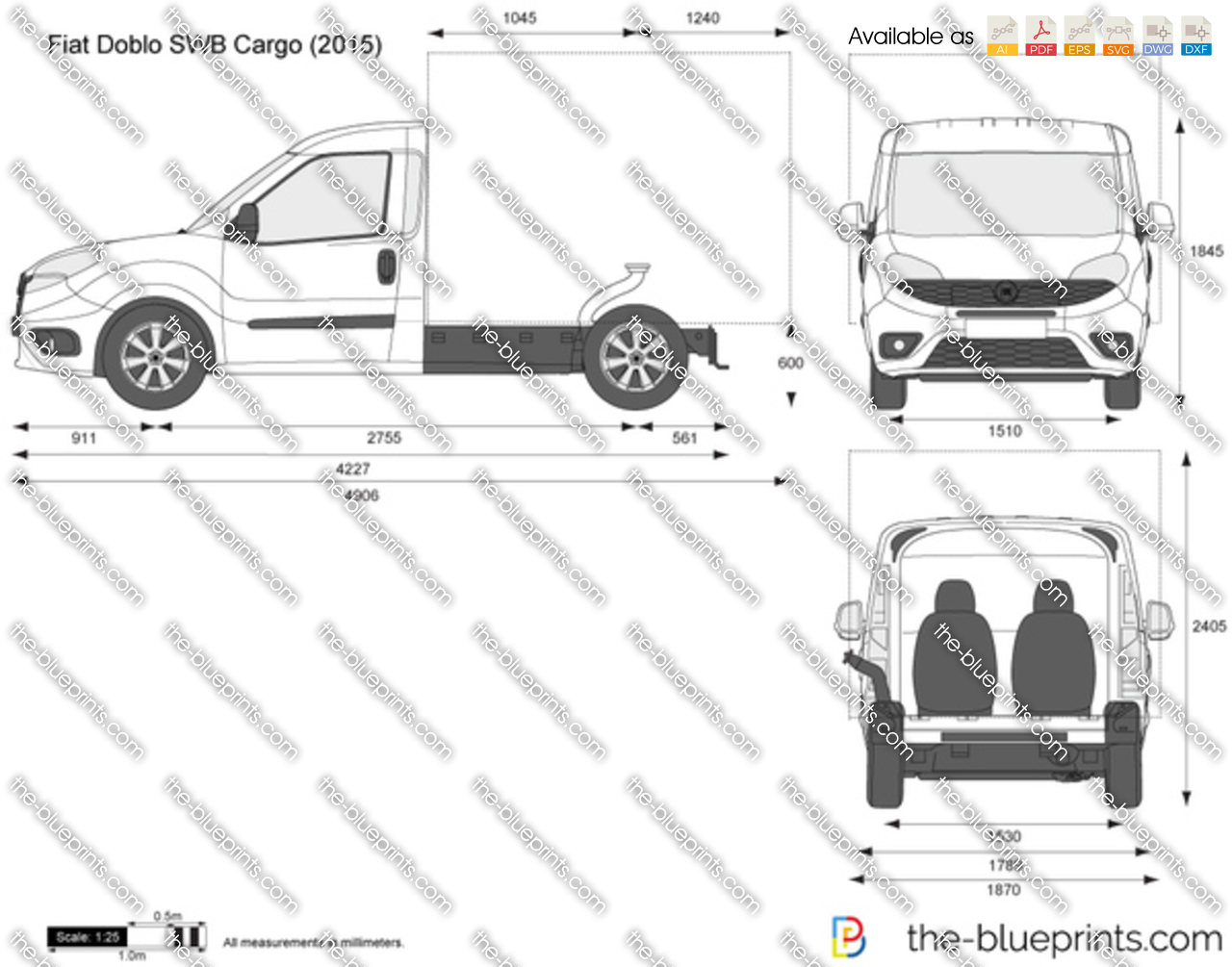 Fiat Doblo SWB Box Van