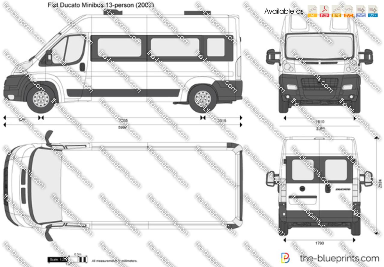 Fiat Ducato Minibus 13-person