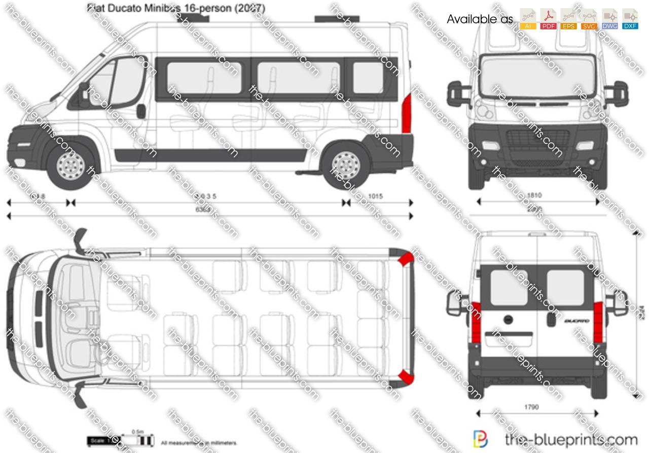 Fiat Ducato Minibus 16-person