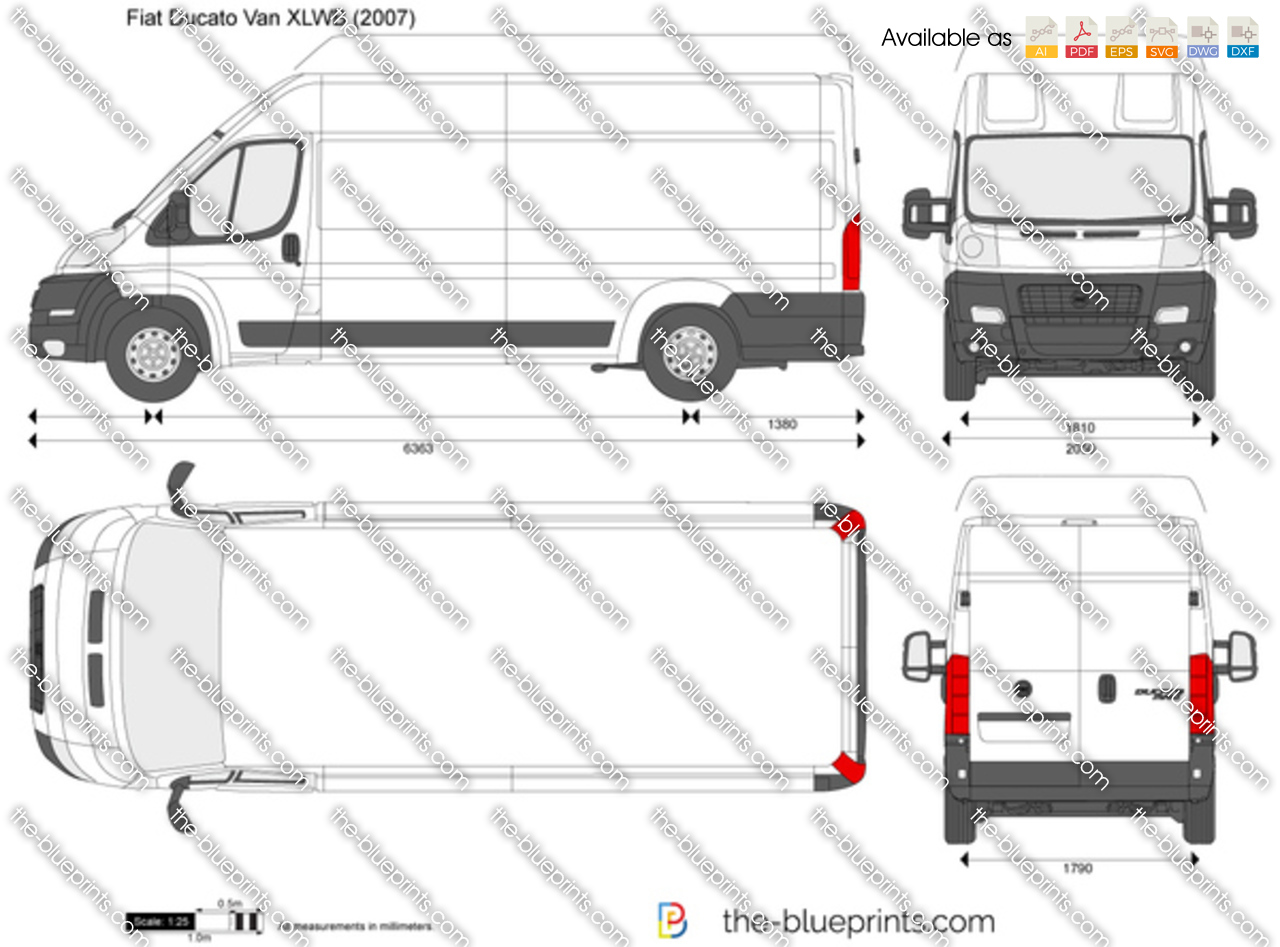 Fiat Ducato Van XLWB