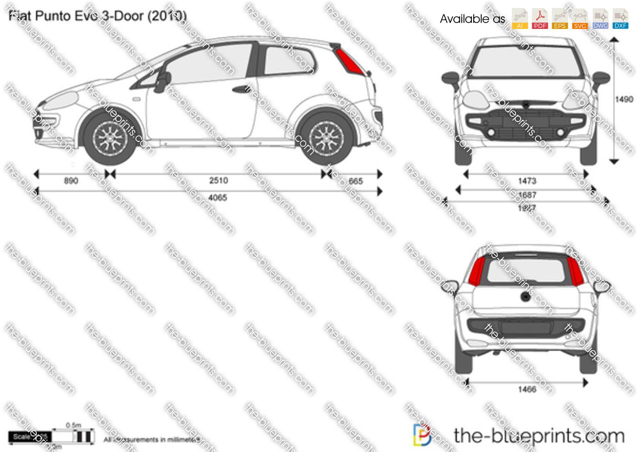 Fiat Punto Evo 3-Door 2012