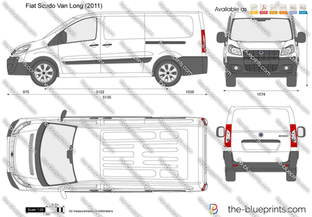 Fiat Scudo Van LWB 2012