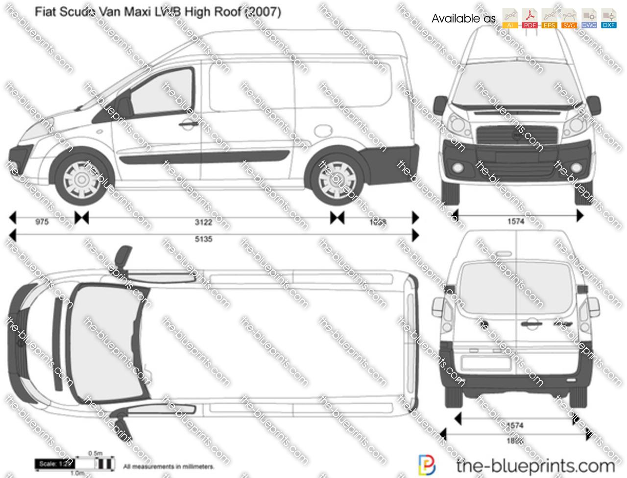 Fiat Scudo Van Maxi LWB High Roof