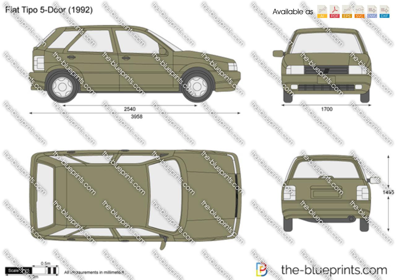 Fiat Tipo 5-Door 1988