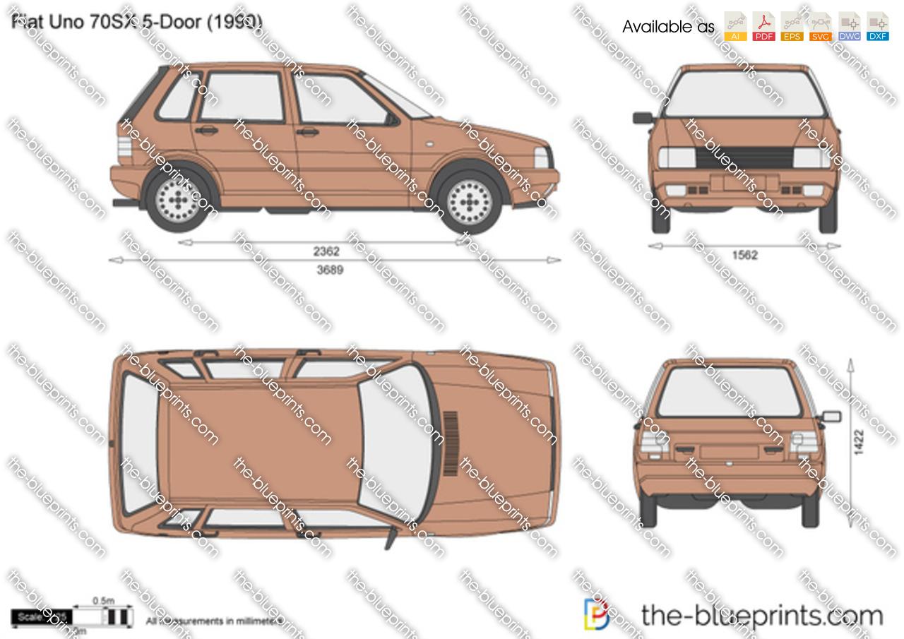 Fiat Uno 70SX 5-Door 1983