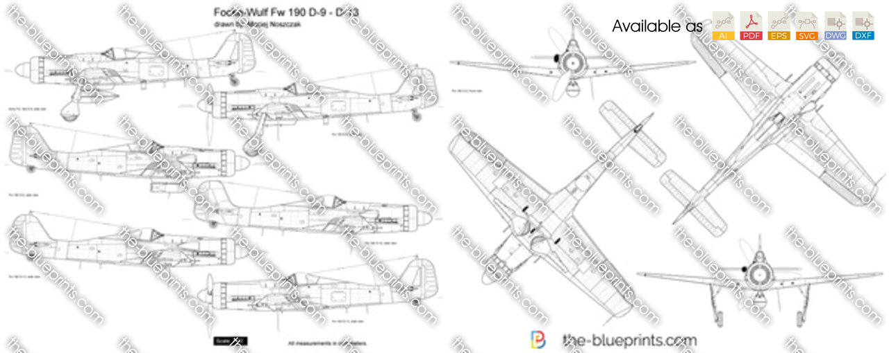 Focke-Wulf Fw 190 D-9 - D-13