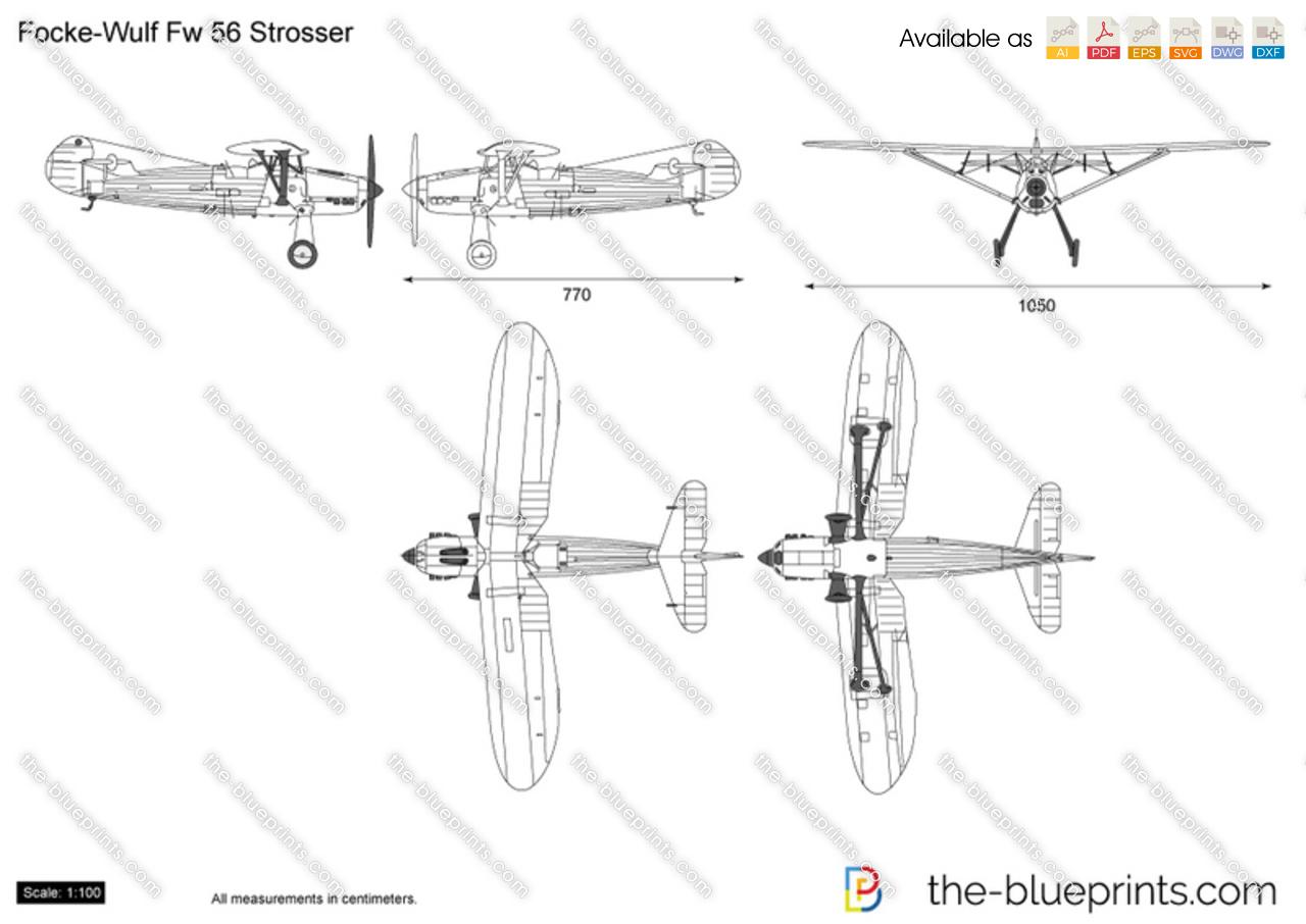 Focke-Wulf Fw 56 Stosser