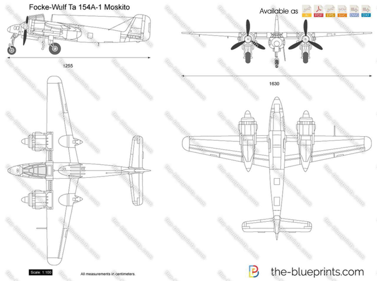 Focke-Wulf Ta 154A-1 Moskito