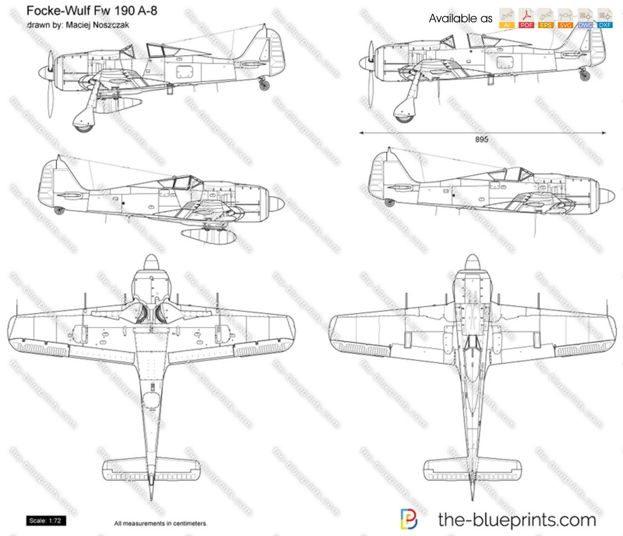Focke Wulf Fw 190 A-8