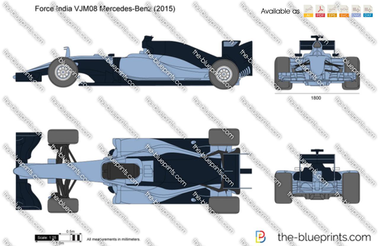 Force India VJM08 Mercedes-Benz
