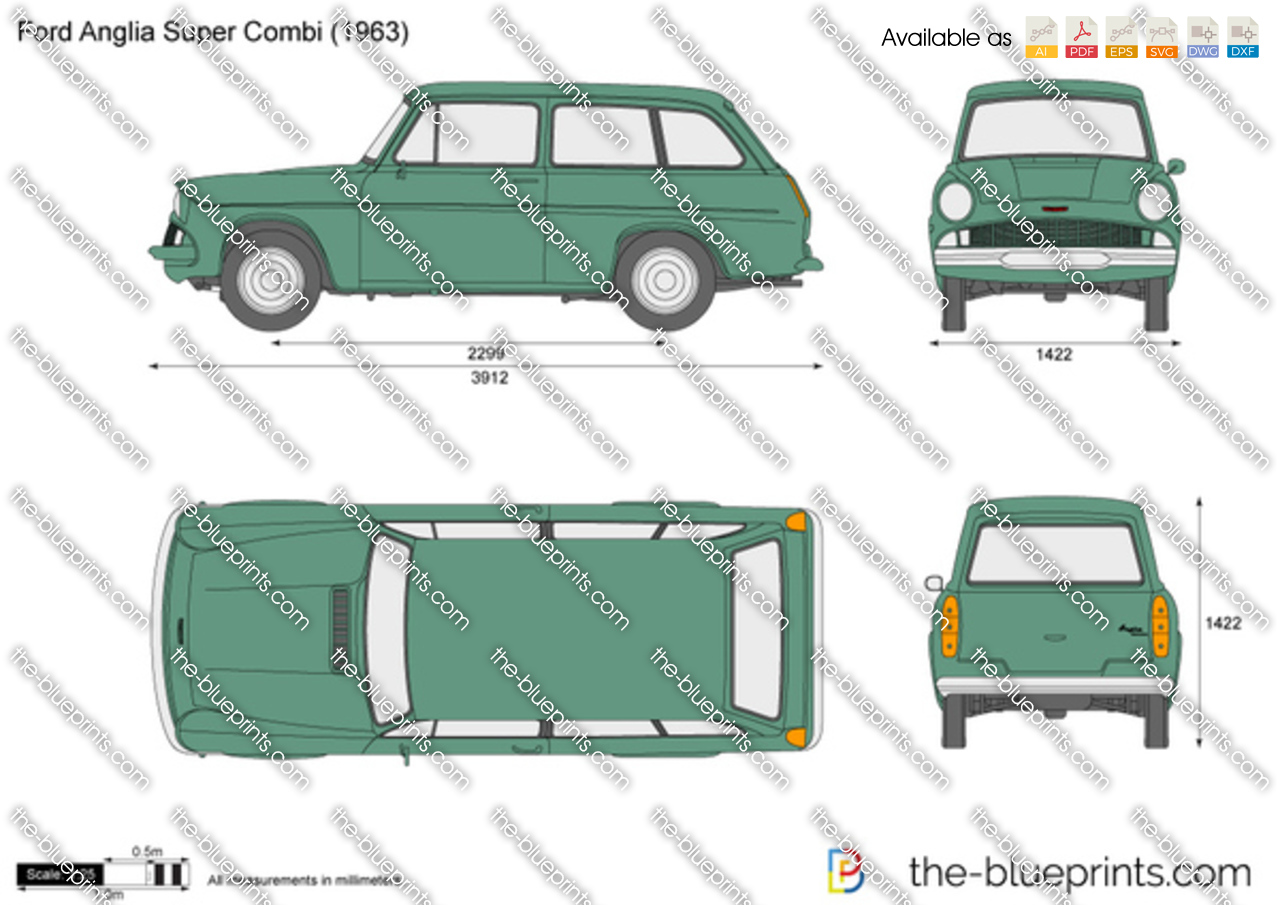 Ford Anglia Super Combi