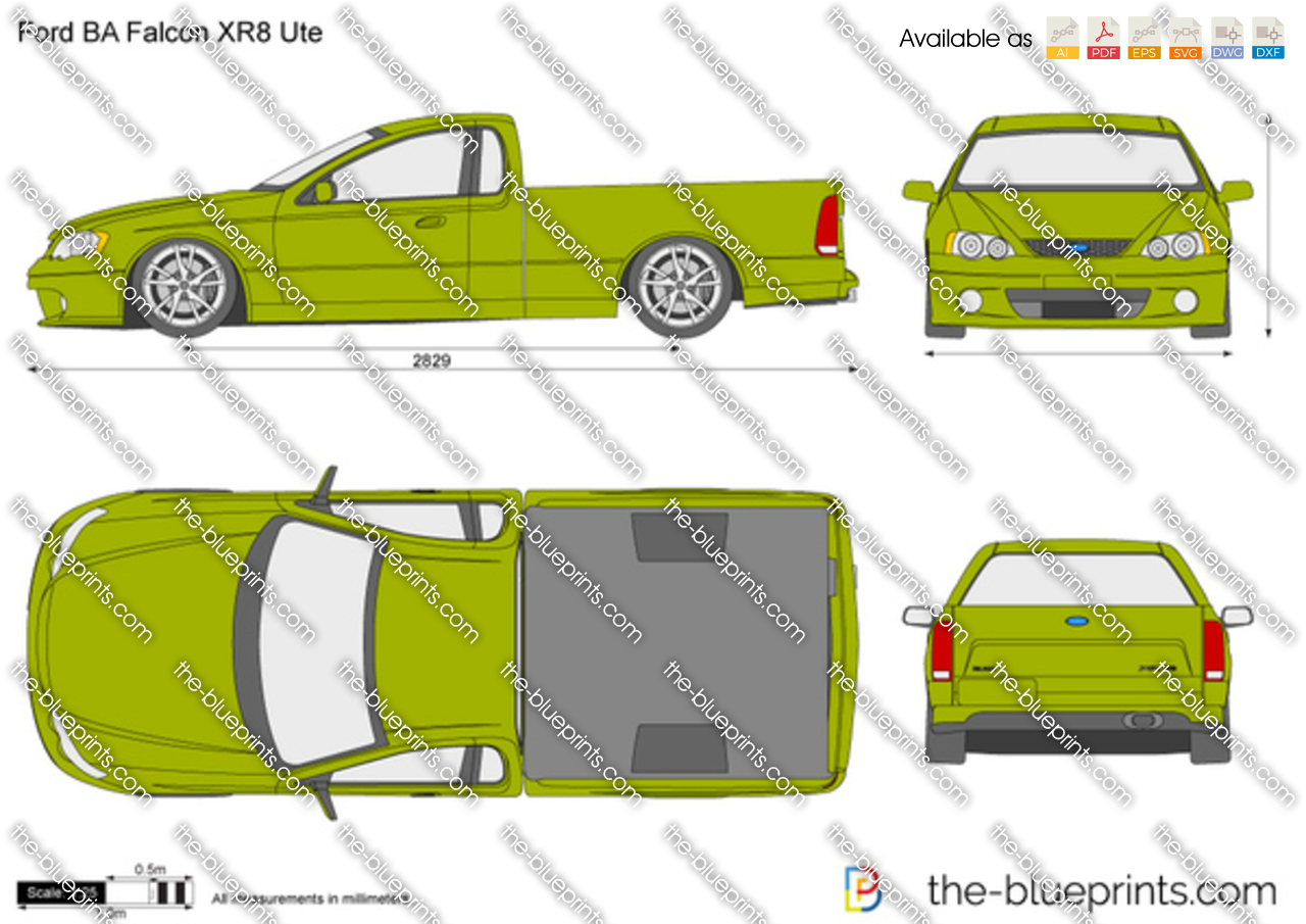 Ford BA Falcon XR8 Ute