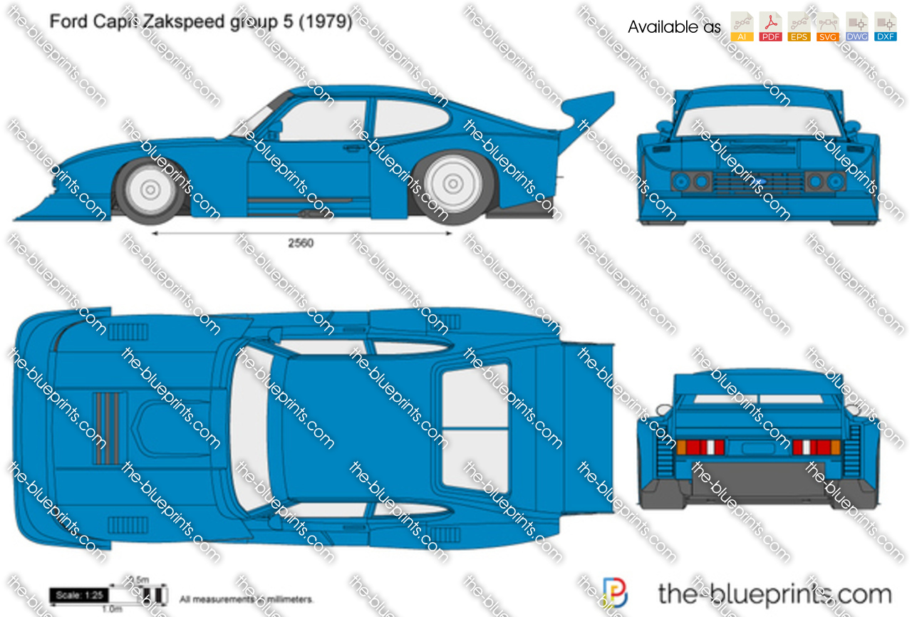 Ford Capri Zakspeed group 5