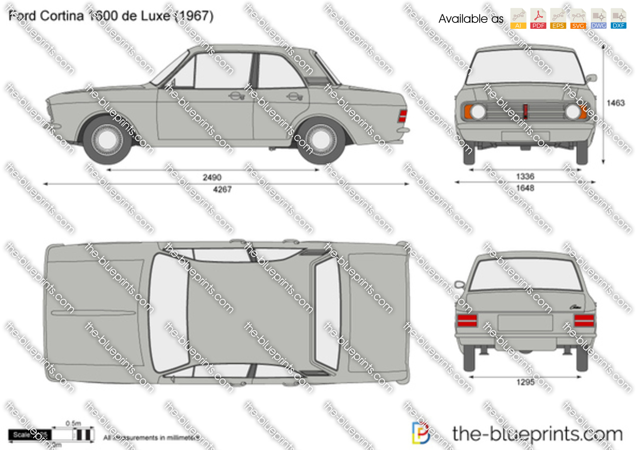 Ford Cortina 1600 de Luxe