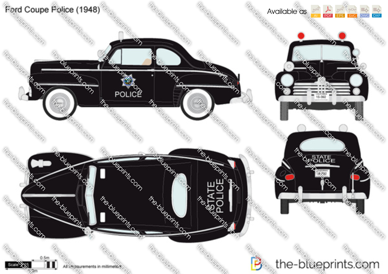 Ford Coupe Police