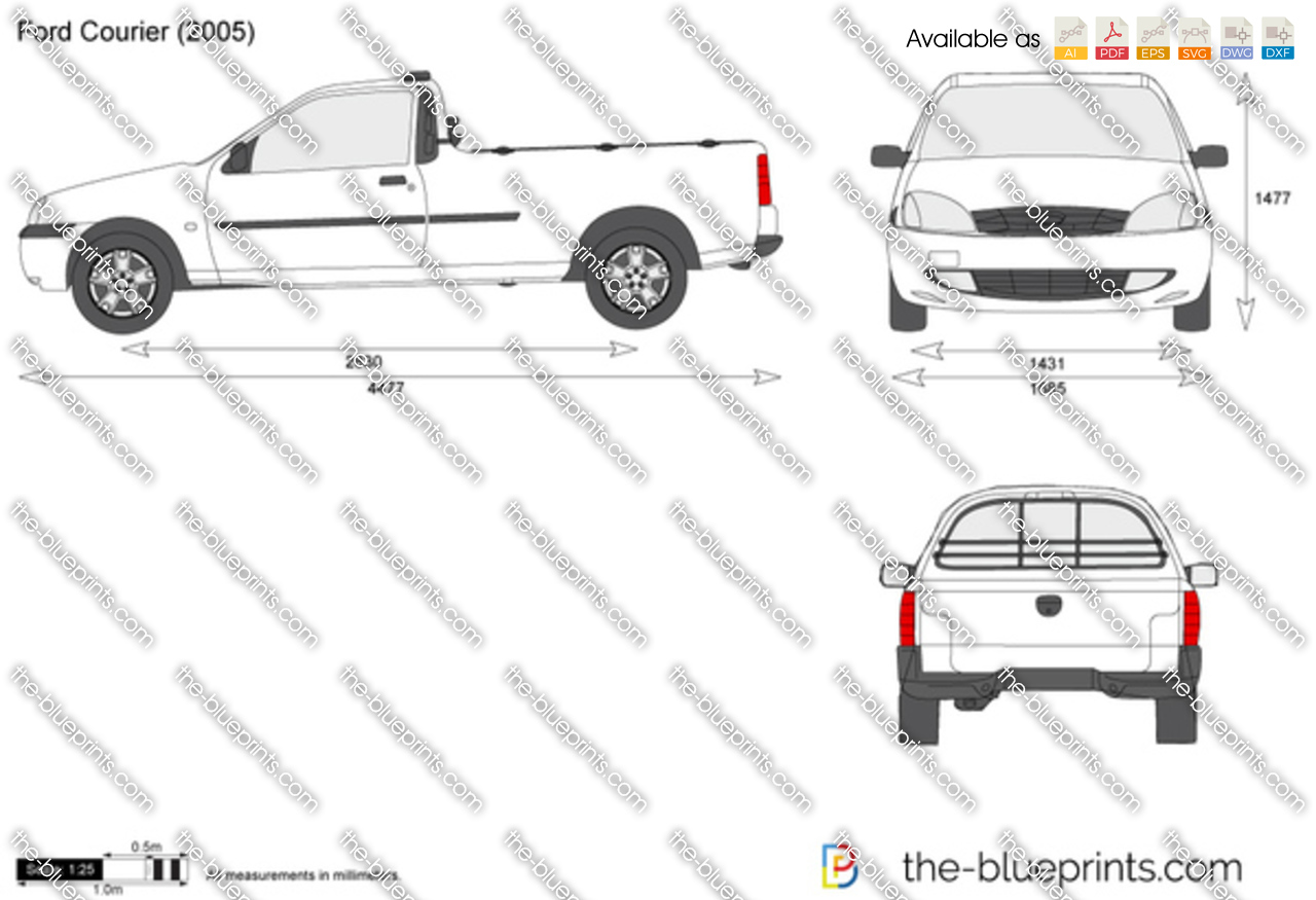 Ford Courier 2002