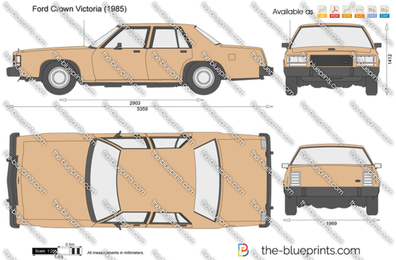 Ford Crown Victoria 1986