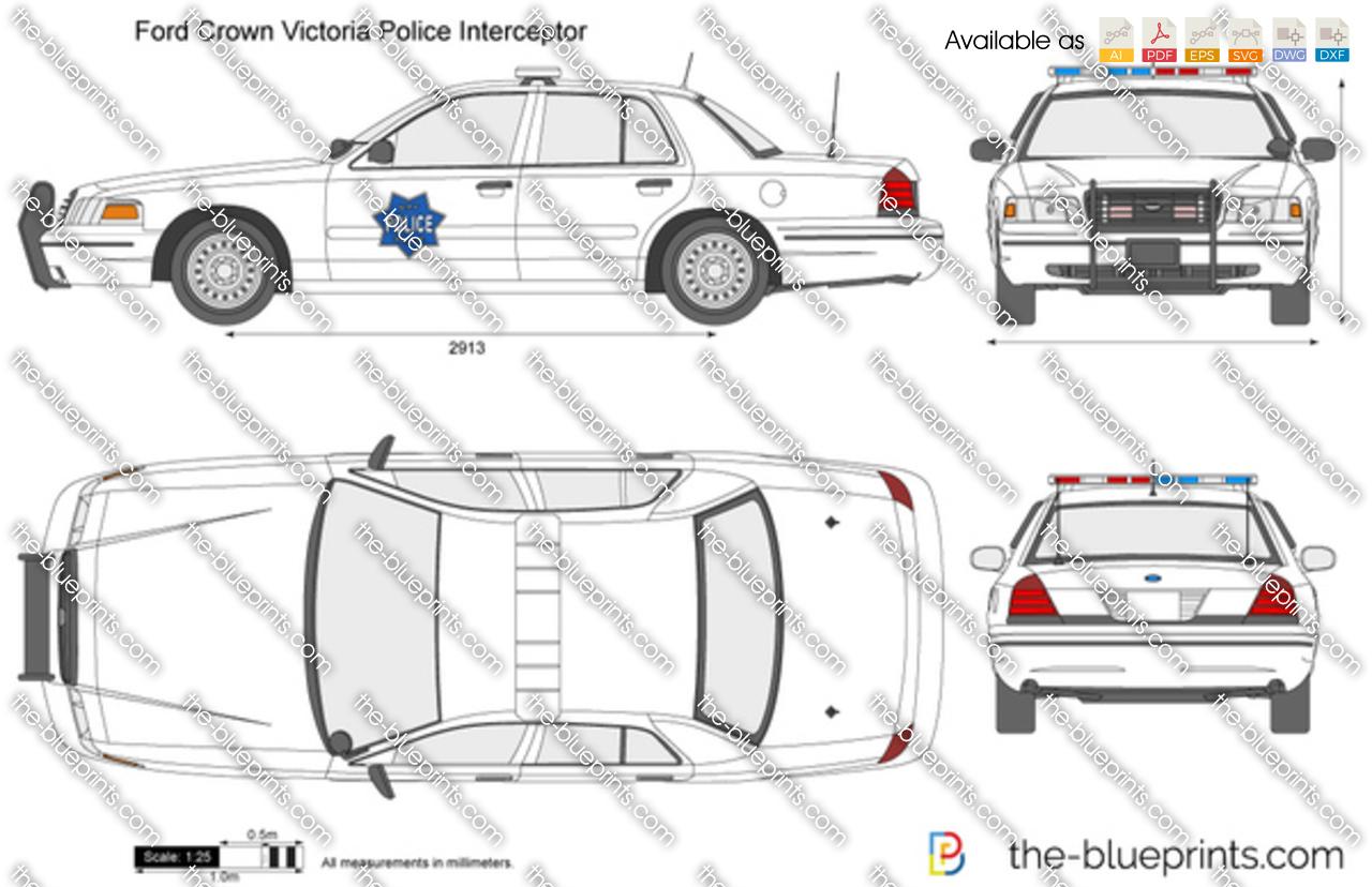 Ford Crown Victoria Police Interceptor 2000