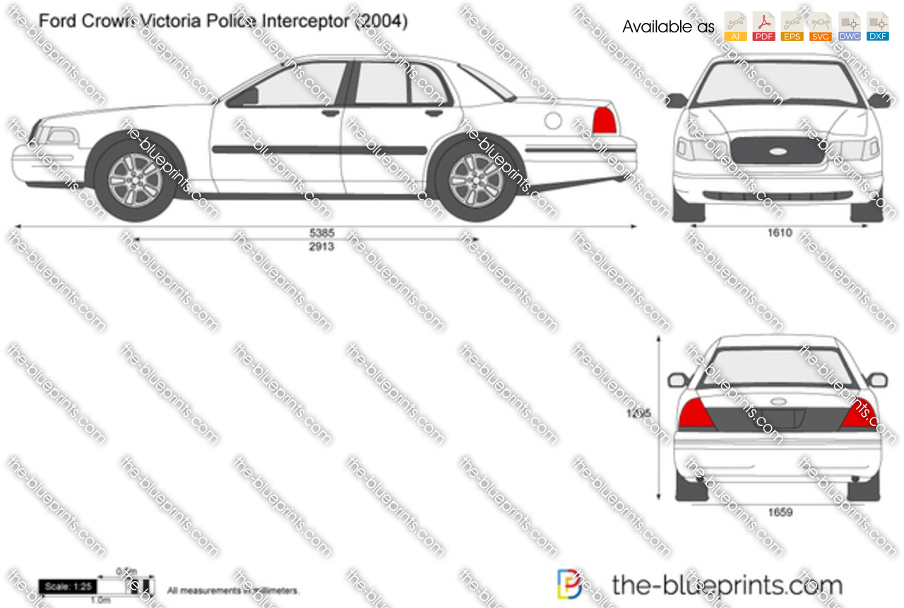 Ford Crown Victoria Police Interceptor 2003