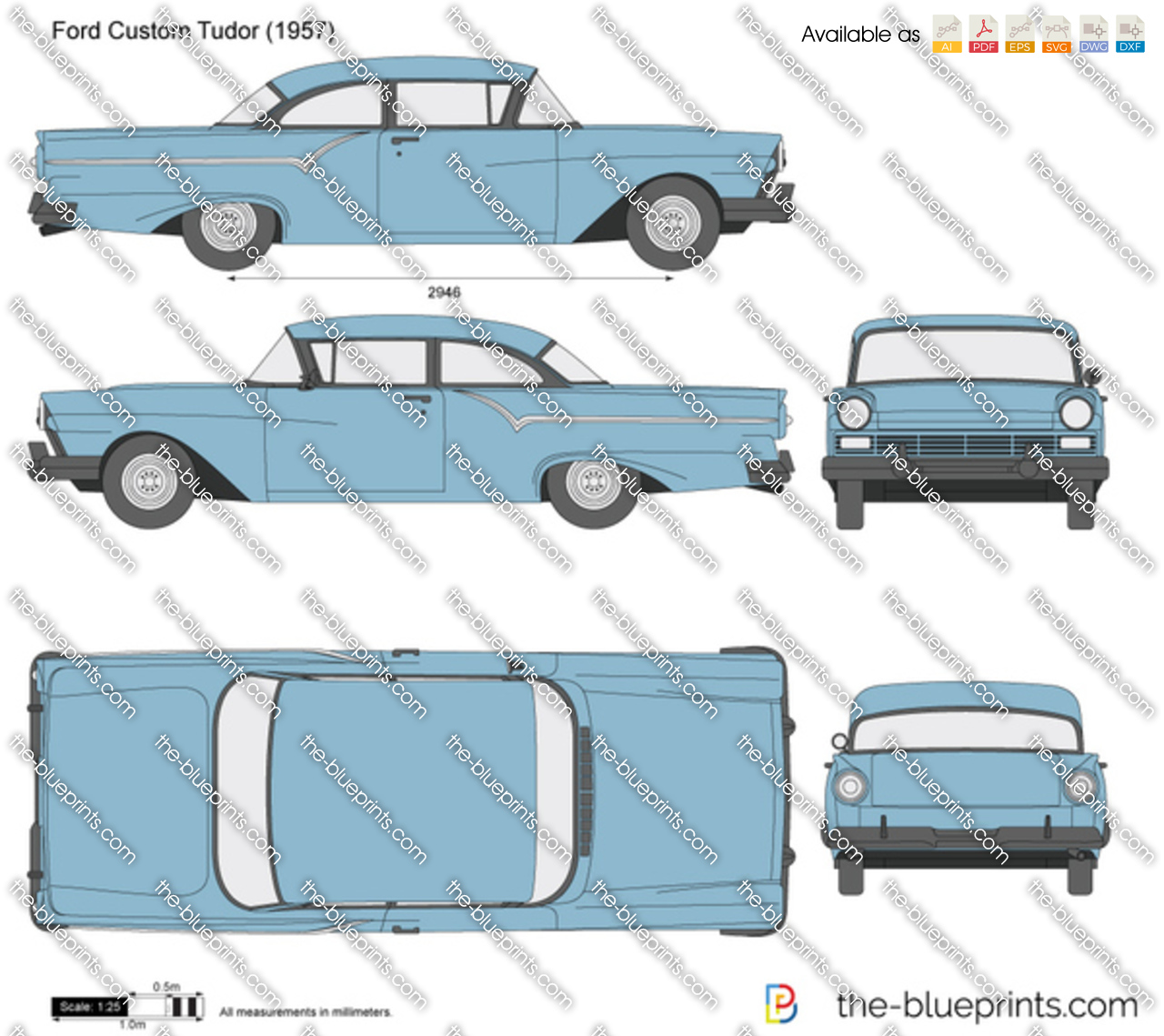 Ford Custom Tudor
