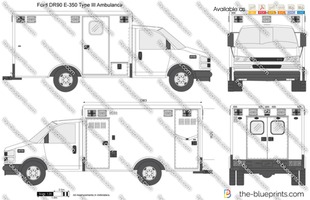 ford e 350 type iii dr90 ambulance name wiring diagram 1955 ford f