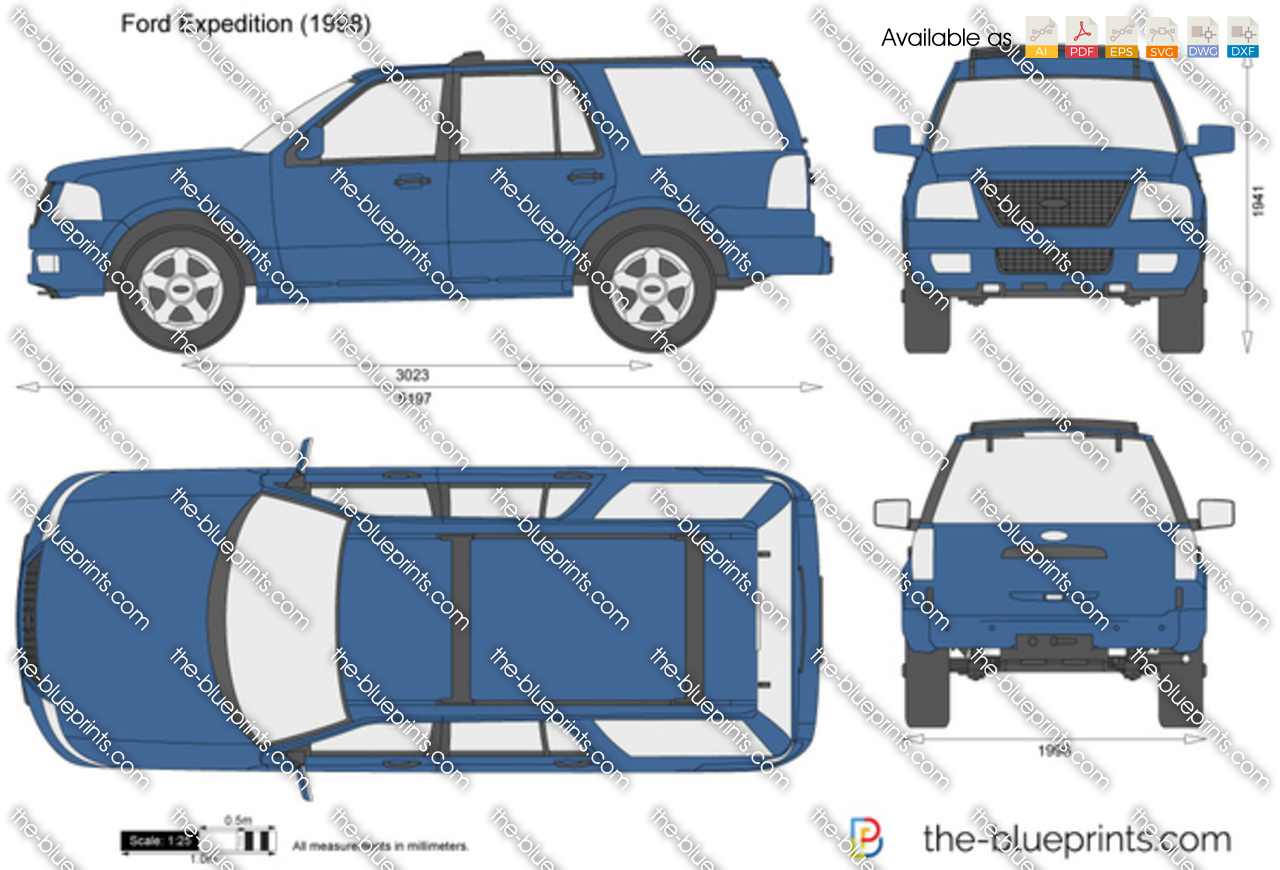 the vector drawing ford expedition. Black Bedroom Furniture Sets. Home Design Ideas