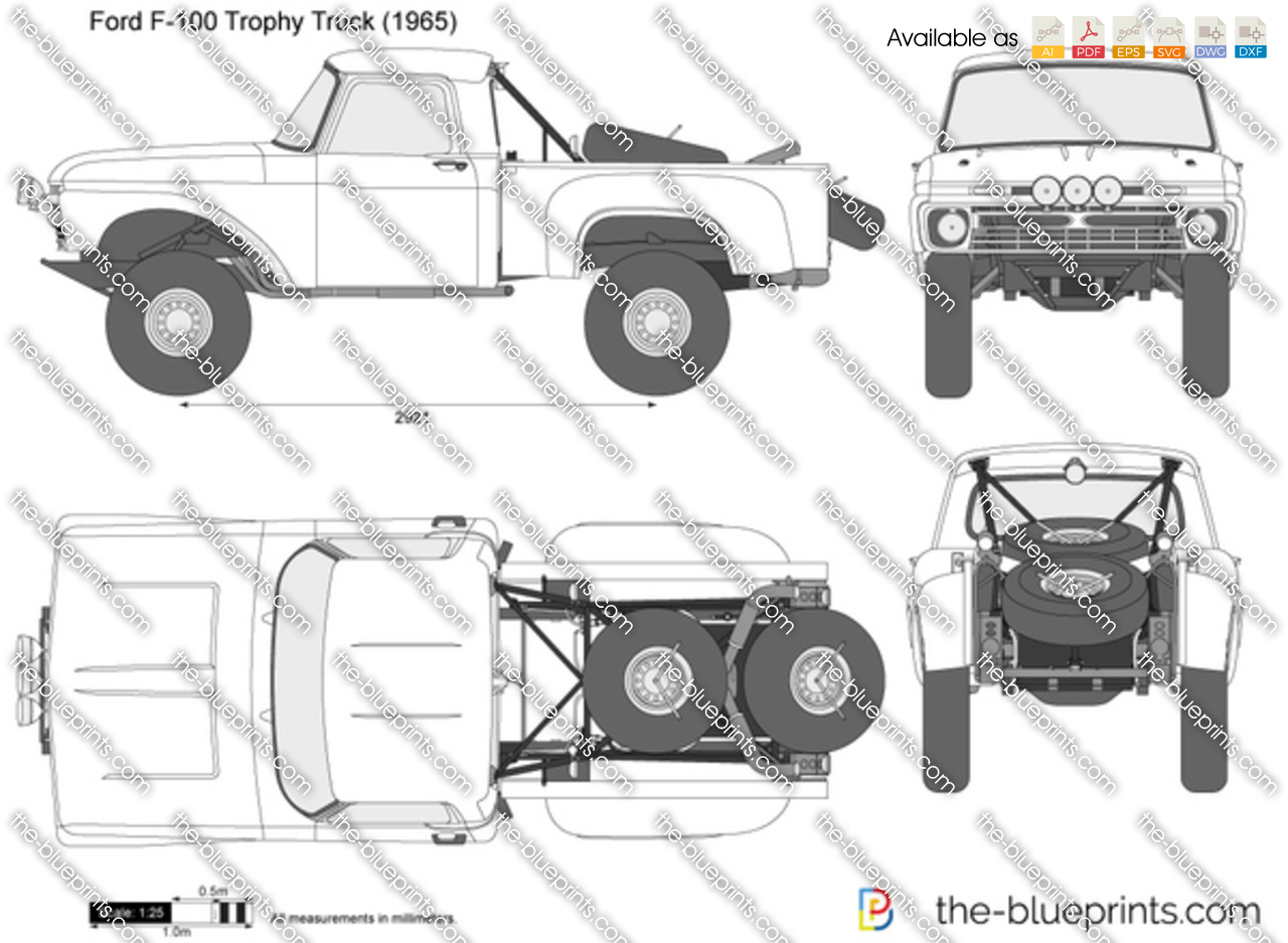 how to draw a trophy truck
