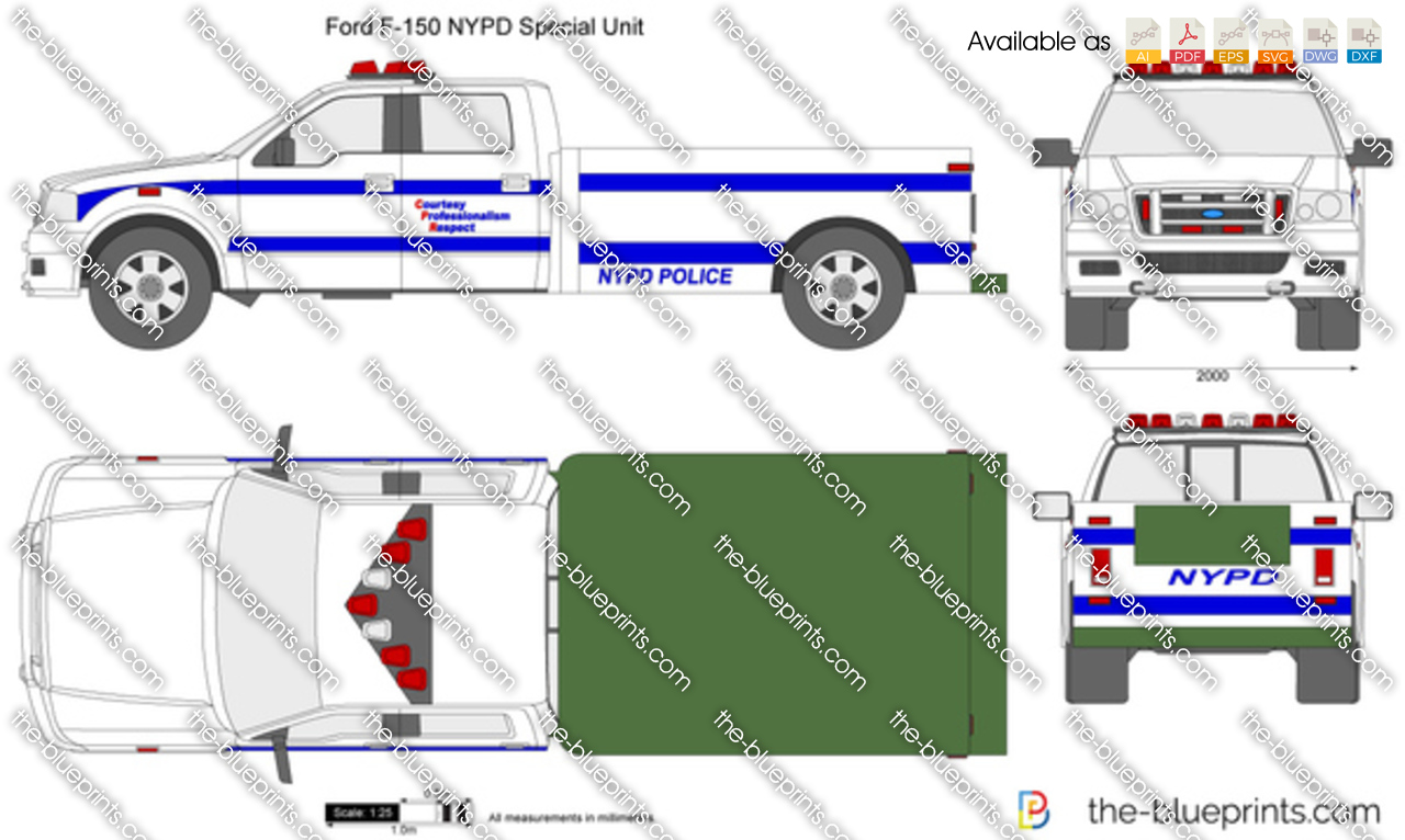 Ford F-150 NYPD Special Unit