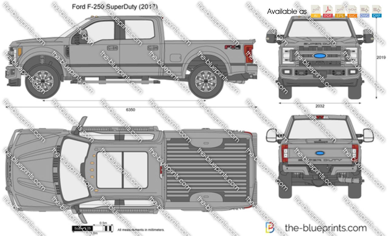 ford f 250 superduty vector drawing. Black Bedroom Furniture Sets. Home Design Ideas