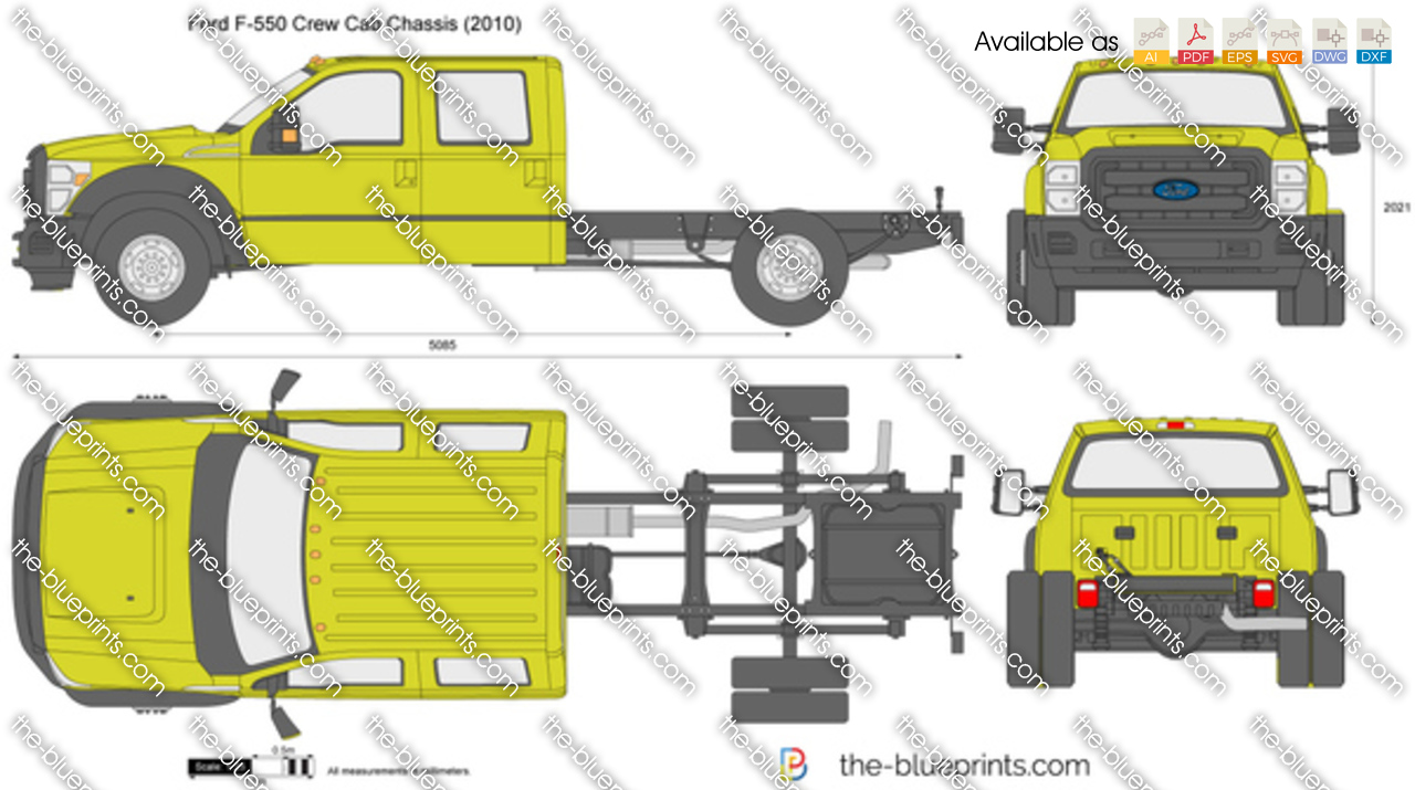 Ford F-550 Crew Cab Chassis