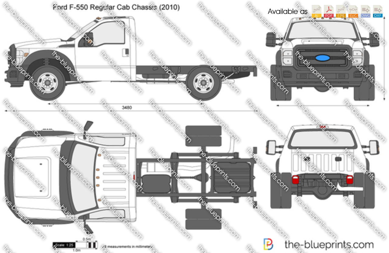 Ford F-550 Regular Cab Chassis 2012