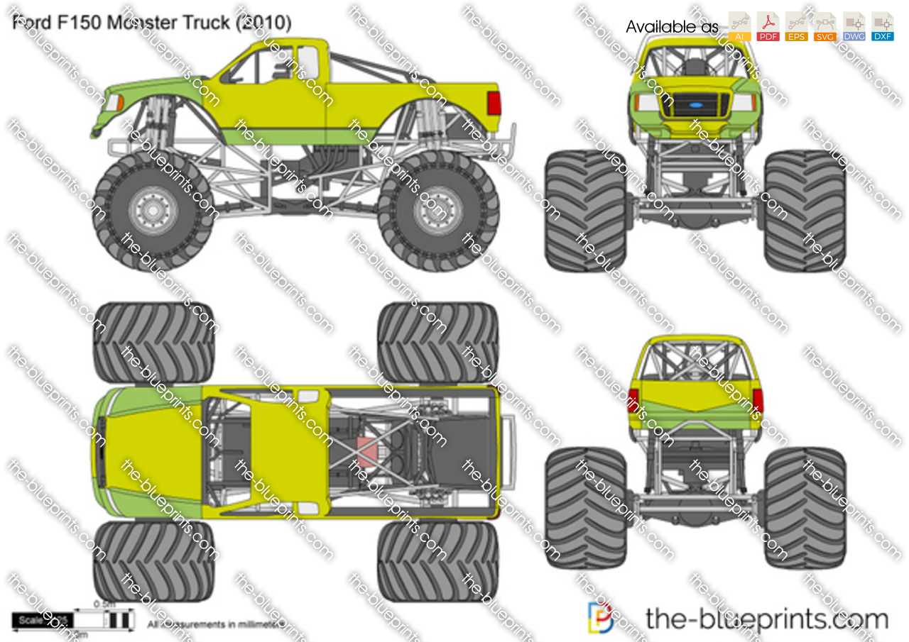 Ford F150 Monster Truck