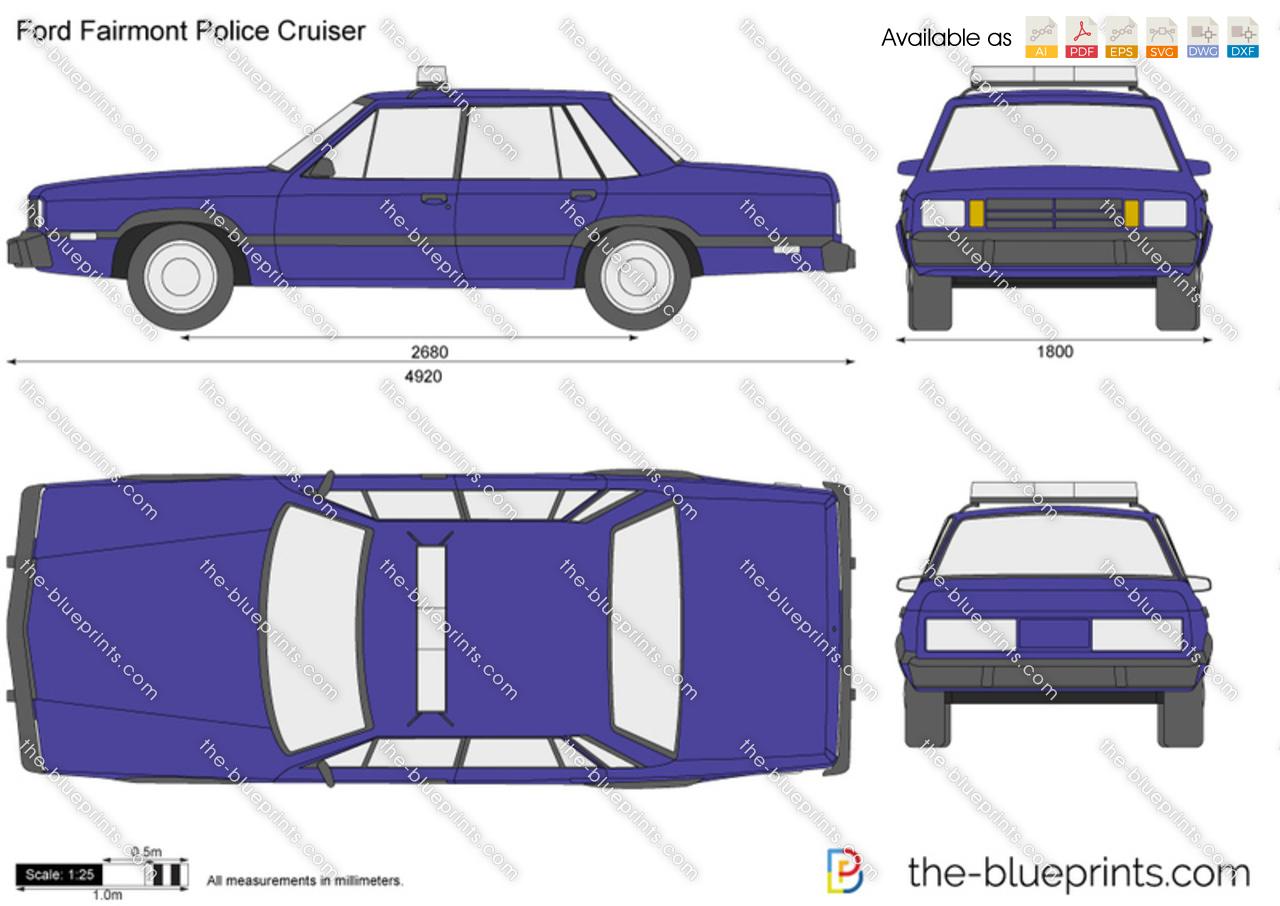 Ford Fairmont Police Cruiser